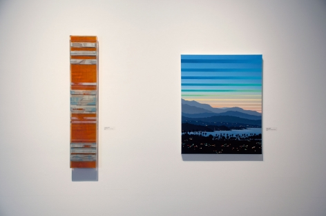 Installation photograph of California on my Mind, R. Nelson Parrish, Julika Lackner