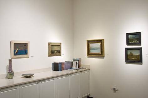 Winter Salon I, 2018, Gertrude Abercrombie, Lockwood de Forest, Leon Dabo, Chris Peters