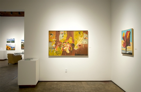 Installation photograph of MICHAEL DVORTCSAK: A Life's Work with Caravagesque, Di Lettore