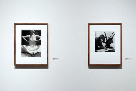 Installation photograph of REAL WOMEN: Realist Art by American Women, Imogen Cunningham