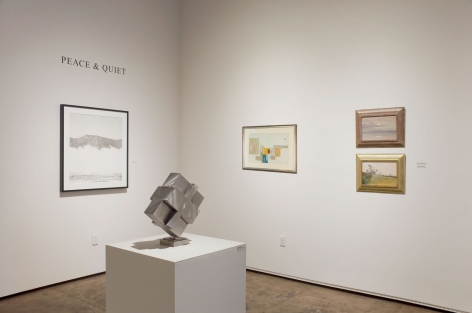 Peace and Quiet Exhibition - Installation Shot