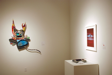 10 UNDER 30, 2013 installation photograph, Vania Winick, Inga Guzyte