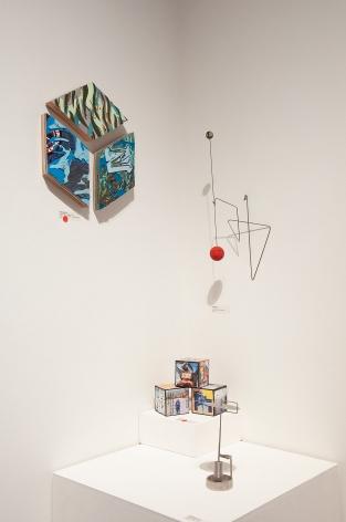 100 GRAND 2019 installation shot with Inga Guzyte, Steven Gilbar, Dan Levin, and Ken Bortolazzo