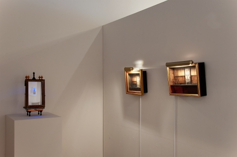 The Red-Headed Stepchild Installation photograph, Sue Van Horsen, Michael Long