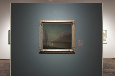 Installation photograph of THE ANCHORS: Masterworks from the Estates at Sullivan Goss, Leon Dabo