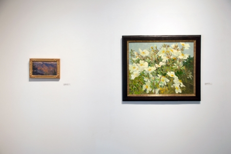 Installation photograph of California on my Mind, Colin Campbell Cooper, Meredith Brooks Abbott