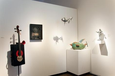 The Red-Headed Stepchild Installation photograph, Sue Van Horsen, Ron Robertston, Tal Avitzur