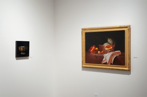 Installation photograph of REAL WOMEN: Realist Art by American Women, Susan Savage, Martha Mayer Erlebacher
