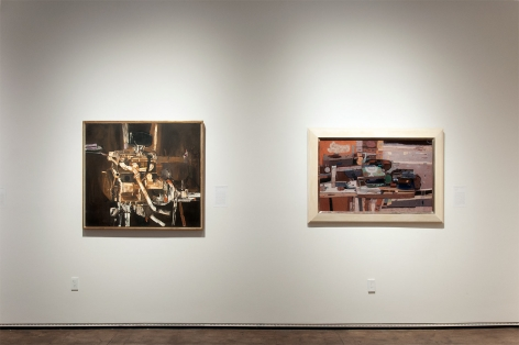 Installation photograph of THE ANCHORS: Masterworks from the Estates at Sullivan Goss, Edgar Ewing, Richard Haines