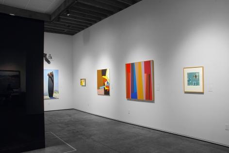 CA COOL installation photograph, Hank PItcher, Sidney Gordin, Karl Benjamin, Ken Bortolazzo, John McCracken