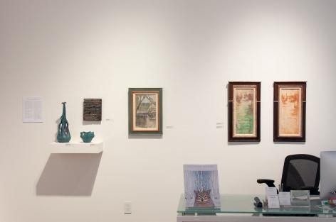 NELL BROOKER MAYHEW: Selected Work, 2018 installation photograph, Linda Haggerty, James Haggerty