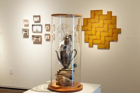 The Red-Headed Stepchild Installation photograph, Susan Tibbles, Virginia McCracken, Nancy Gifford