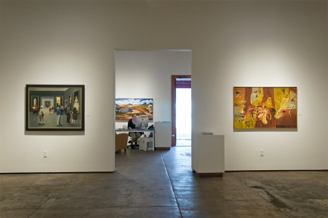 Installation photograph of MICHAEL DVORTCSAK: A Life's Work with The Far Room, Caravagesque