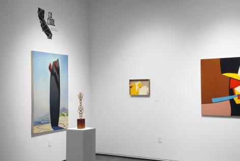 CA COOL installation photograph, Hank PItcher, Sidney Gordin