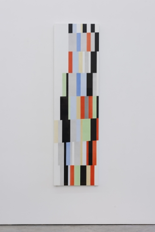 Alejandro Otero, Tablón 12, Upata 1927 [Plank 12 Upata 1927], 1973-1987. Acrylic lacquer on wood and Formica, 78 11/16 x 21 5/8 in.