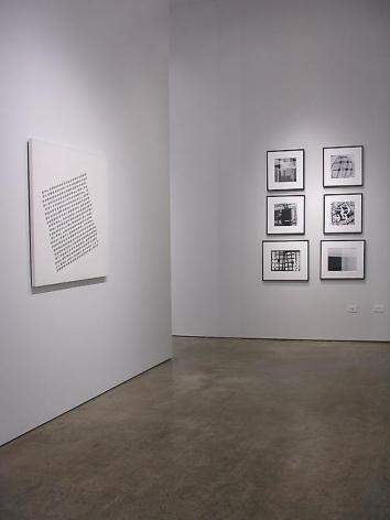 Luis Tomasello, Geraldo de Barros, Sicardi Gallery installation view, 2010