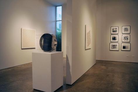 Luis Tomasello, Jesús Rafael Soto, Geraldo De Barros, Sicardi Gallery installation view, 2010