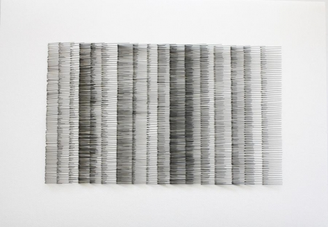 Mariano Dal Verme, Untitled, 2013. Graphite, 21.25 in. x 29.1 in. x 2.25 in.