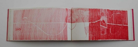 Gego, Lineas Ed. 9/20, 1966. Book of lithographs, Tamarind Lithograph Workshop, 8 x 16 1/2 in. / 20.32 x 41.91 cm.
