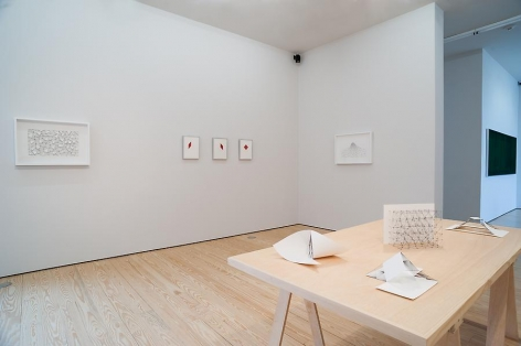 Mariano Dal Verme, On Drawing, Installation view, 2013.