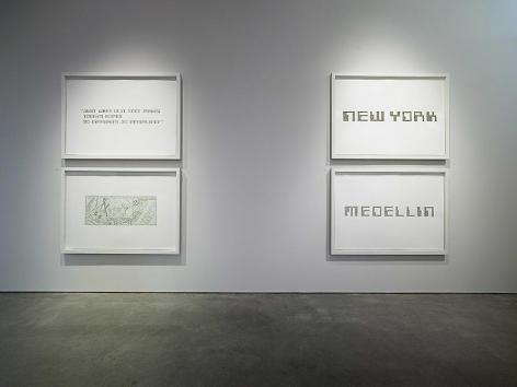 Miguel Angel Rojas, solo exhibition, Sicardi | Ayers | Bacino, 2006