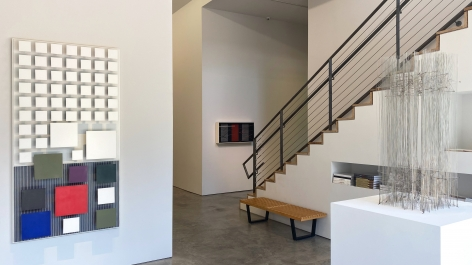 Installation view of the exhibitionDialoguesat Sicardi | Ayers | Bacino.