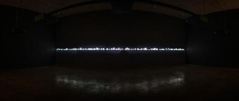 Oscar Muñoz, El Coleccionista. [Ed. of 5 + 2 AP], 2014-16. HD synchronized video projections, sound, Video: 52 min. Solo ExhibitionEl Coleccionista, Sicardi   Ayers   Bacino, 2016.
