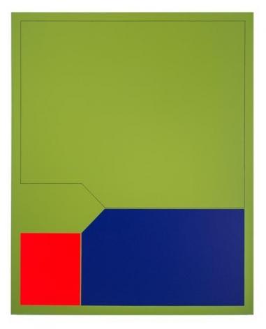 Antonio Lizárraga, Orvalho, 2007. German pigments on canvas, 39 3/8 x 31 1/2 in.