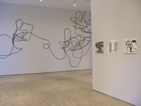 Luis Roldán, Sicardi Gallery installation view, 2007