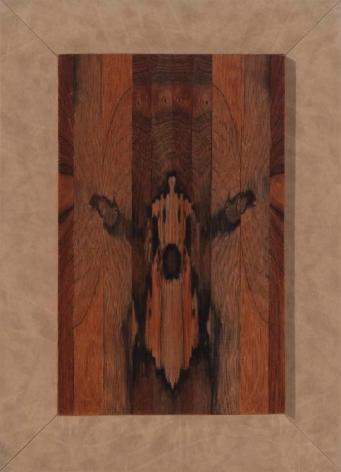 Abraham Palatnik, Untitled, 1971.  Jacaranda wood, 15 1/8 x 9 1/2 in. / 38.4 x 24.1 cm.