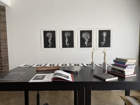 Maria Fernanda Cardoso's studio, Sydney, Australia, 2019.