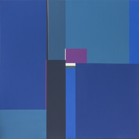 Mercedes Pardo Ponte, Untitled, 1990. Acrylic on canvas, 47 3/16 x 47 3/16 in.