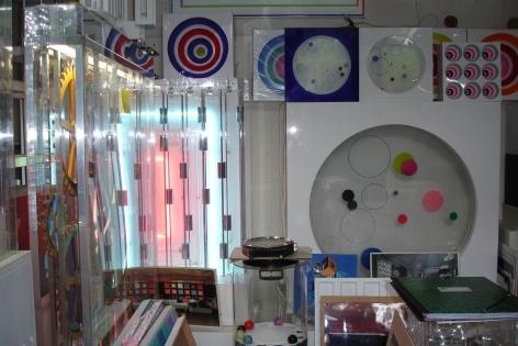 Martha Boto and Gregorio Vardanega studio, Paris.