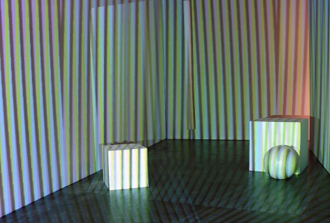 Carlos Cruz-Diez, Sicardi Gallery installation view, 2007
