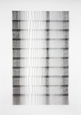 Mariano Dal Verme, Untitled, 2014. Graphite, paper, 29 in. x 21 in. x 2 in.