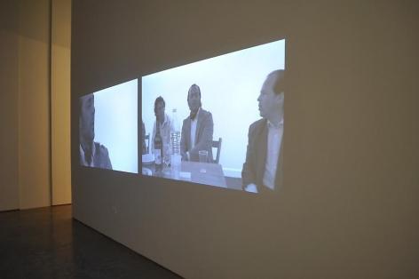 Dias & Riedweg, Sicardi Gallery installation, 2010.
