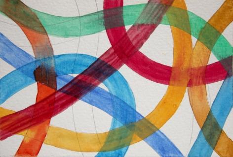 Graciela Hasper, Sin Titulo, [Untitled], 2011. Watercolor on paper, 3 15/16 x 6 in. (10 x 15.3 cm.)