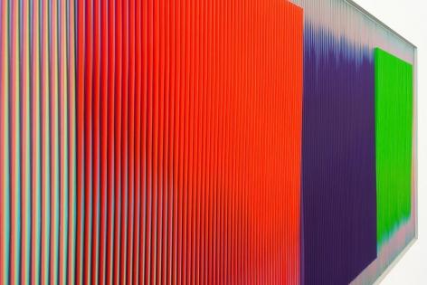 Carlos Cruz-Diez, A Chromatic Condition, Installation view, 2015.