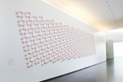 Luis Tomasello, Atmosphere Chromoplastique, 2011, Bloch Building, The Nelson-Atkins Museum of Art