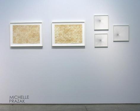 Marked Pages III, Michelle Prazak, Sicardi Gallery installation view, 2011