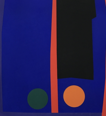 Mercedes Pardo Ponte,Untitled AP, 1972, Serigraph on paper, 21 5/8 x 17 1/8 in. (55 x 43.5 cm.)
