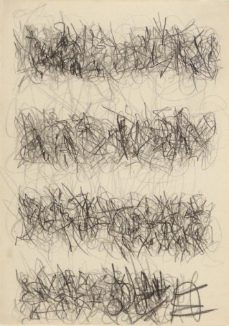 León Ferrari, Untitled, 1976. Drawing, graphite on paper, 27 3/16 x 21 3/16 in. / 69 x 53.8 cm.