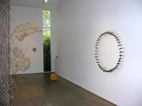 Maria Fernanda Cardoso, Sicardi Gallery installation view, 2006