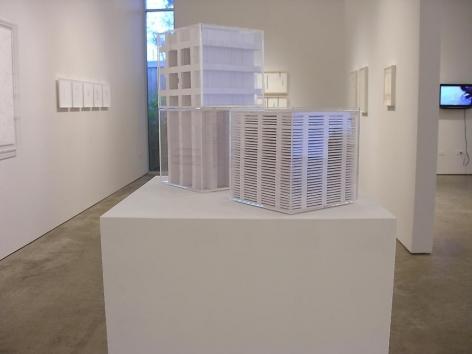 Marco Maggi, Sicardi Gallery installation view, 2008