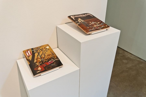 Marked Pages III, Sebastain Gordin, Sicardi Gallery installation view 2011