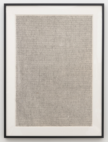 León Ferrari, Sin Título, from the Errores series, 1991. Indian Ink on paper, 39 3/8 x 27 1/2 in. (100 x 70 cm.)