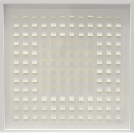 Luis Tomasello, S/T3, 2012. Lithograph, edition 40/50. 50 x 50 cm.
