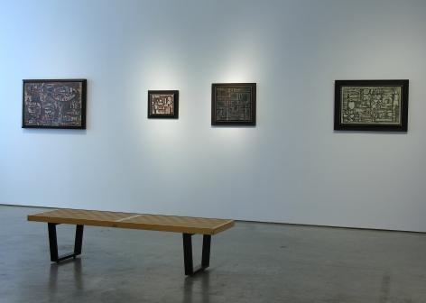 Sicardi Gallery Exhibition,Contructivism in Relief, 2009