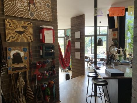 Maria Fernanda Cardoso's studio, Sydney, Australia,2019.