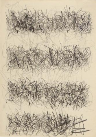 León Ferrari, Sin Título, 1976. Drawing, Graphite on paper, 27 1/8 x 21 1/8 in. (68.9 x 53.8 cm.)